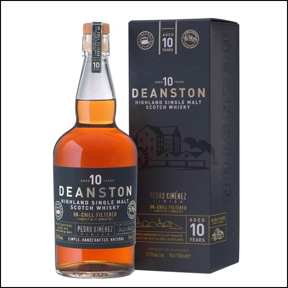 Deanston 10 Year Old PX Finish 70cl 57.5%