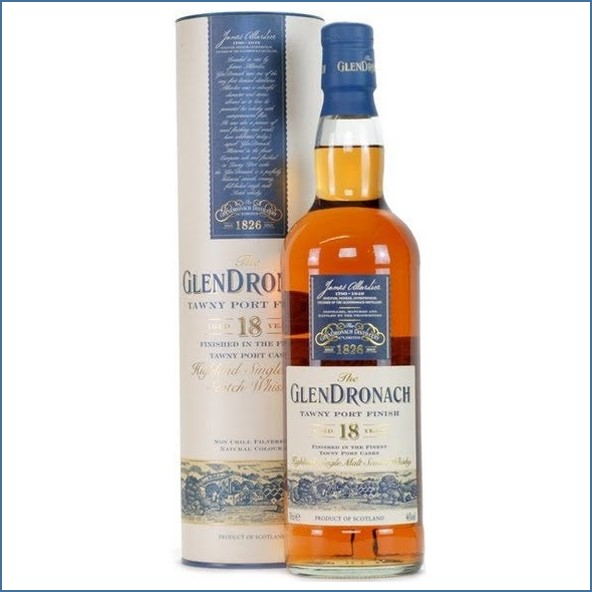 Glendronach 18 Year Old Tawny Port Finish 70cl 46%