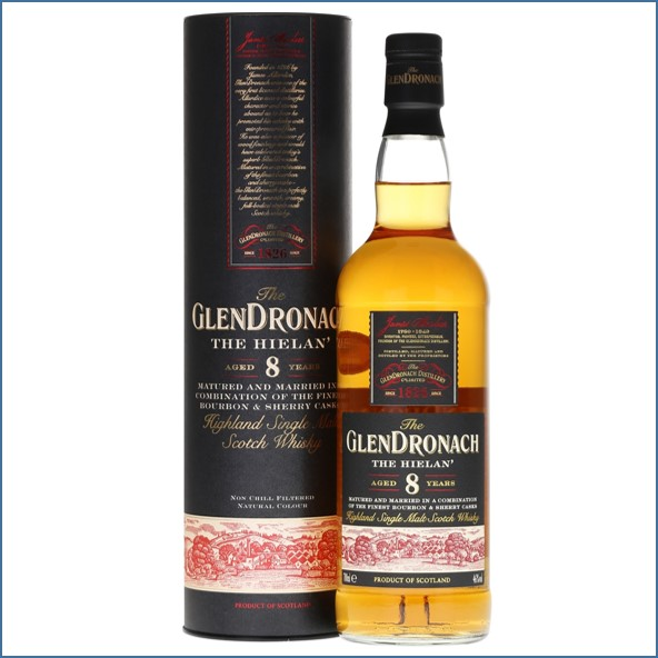 Glendronach 8 Year Old The Hielan  70cl 46%