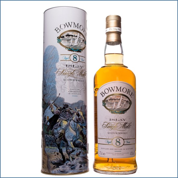 Bowmore 8 Year Old The legend of the The Phantom Horseman 70cl 40%