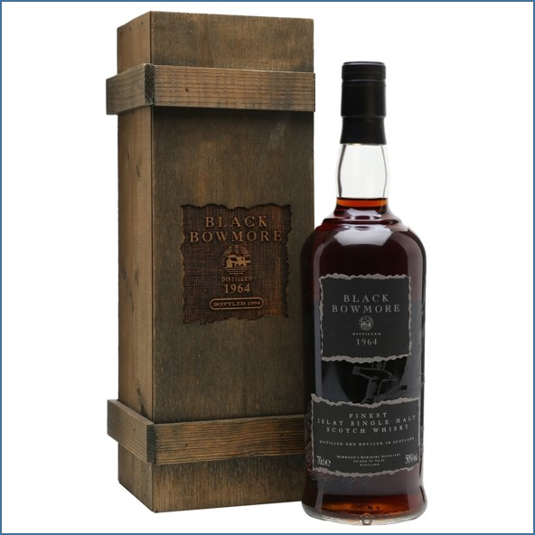 Black Bowmore 1964 31 Year Old Final Edition 70cl 49%