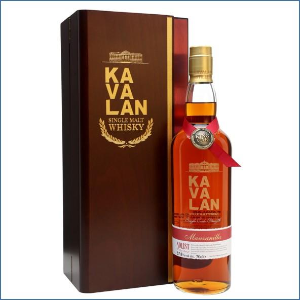 Kavalan Solist Manzanilla Cask #010A (2011) Taiwanese Single Malt Whisky 70cl 57.8%