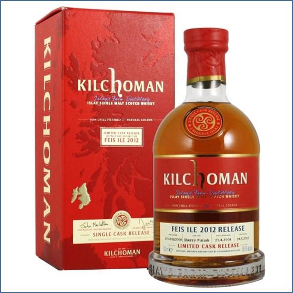 Kilchoman Feis Ile 2012 4 Year Old 2008 70cl 58.5%
