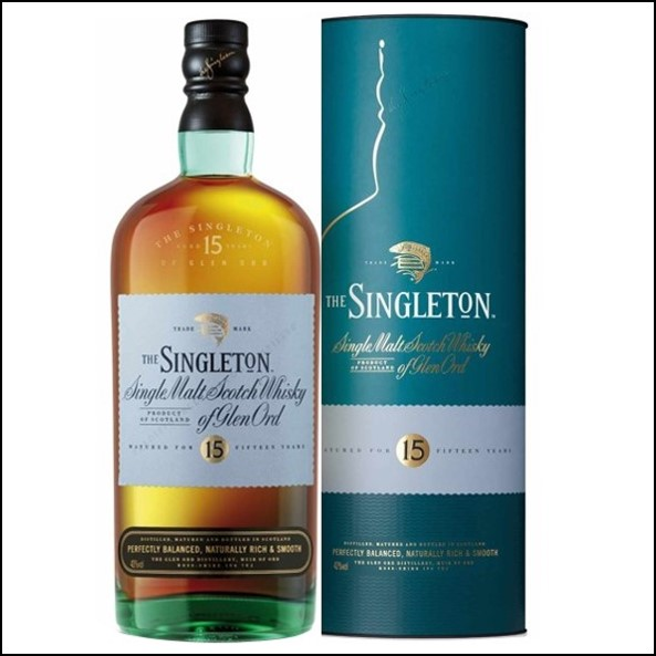 The Singleton of Glen Ord 15-year-old 70cl 40% 蘇格登15年收購Glen Ord