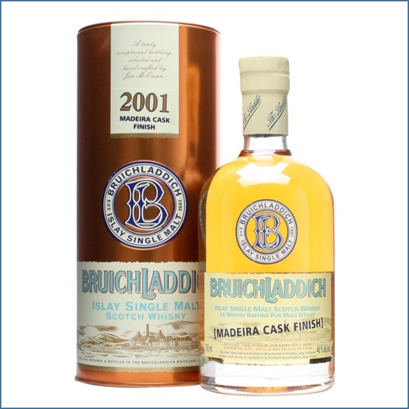 Bruichladdich 6 Year Old 2001 Madeira Cask Finish 70cl 46%