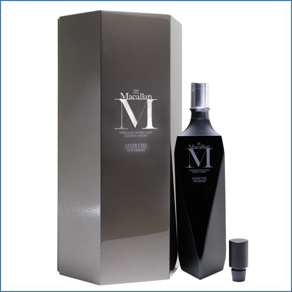 收購麥卡倫/Macallan M Black Decanter 2018 Release 70cl 44.8%