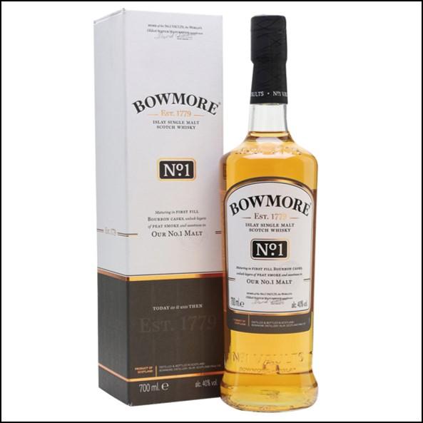 Bowmore No.1 70cl 40%/波摩 No.1/Bowmore Whisky 波摩威士忌收購價格表/台灣洋酒收購中心