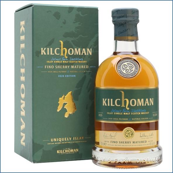 Kilchoman Fino Sherry Cask Bot.2020 Islay Single Malt Scotch Whisky 70cl 46%