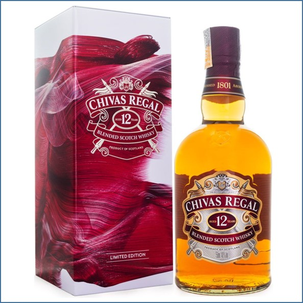 Chivas Regal 12 Year Old Blended Scotch Whisky 75cl 40% 收購奇瓦士,奇瓦士收購