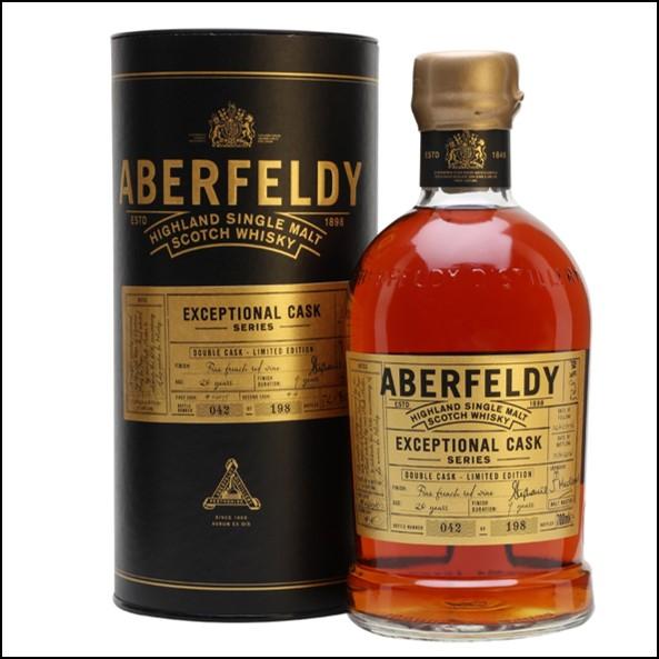Aberfeldy 20 Year Old Single Malt Scotch Whisky 70cl 52.8% 1996 Exceptional Cask  收購艾伯迪20年 1996