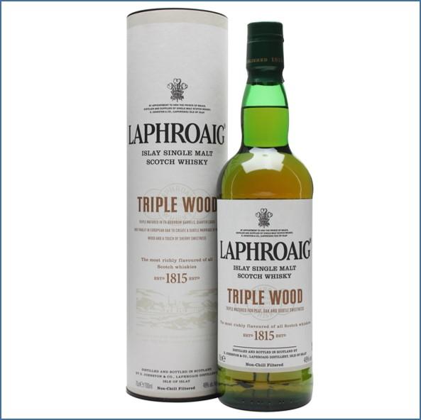 拉弗格收購Laphroaig Triple Wood 70cl 48%