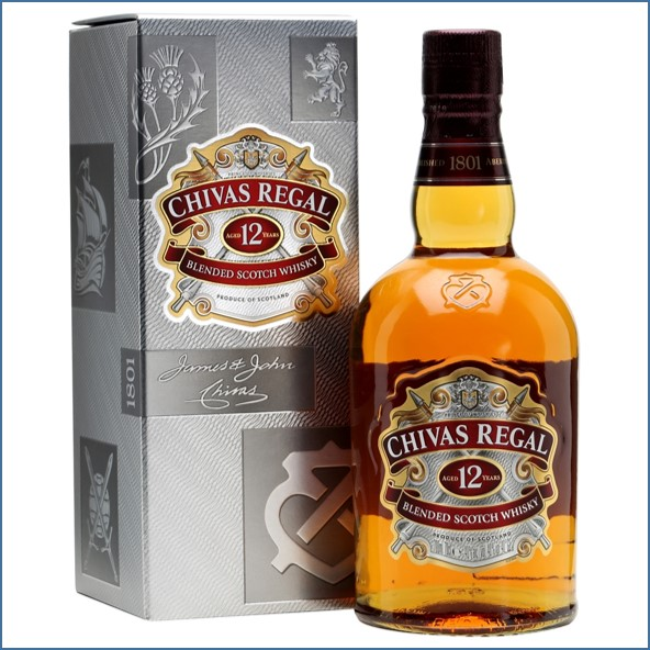 Chivas Regal 12 Year Old Blended Scotch Whisky 70cl 40% 收購奇瓦士,奇瓦士收購