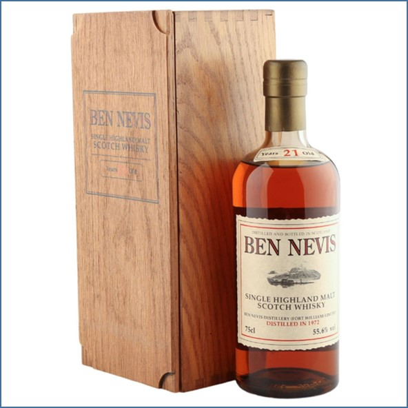 Ben Nevis 21 Year Old 1972  Cask Strength 70cl 55.6%