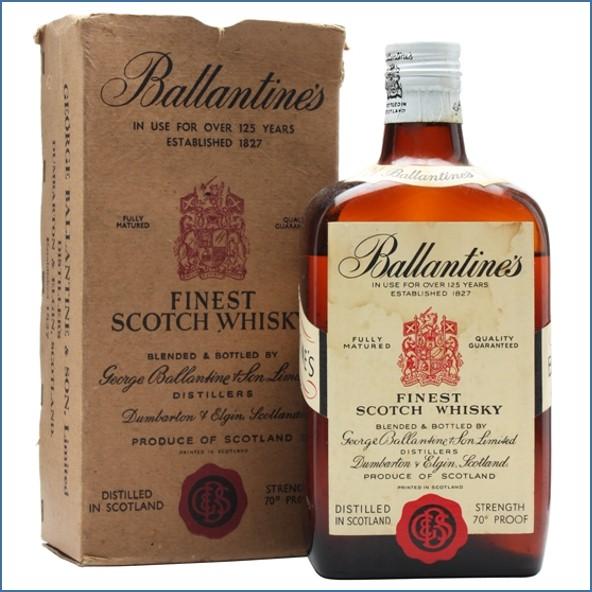 Ballantine's Finest - Bot.1950s 75cl 40%
