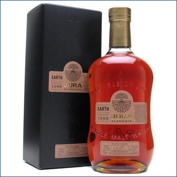 Isle of Jura Elements Earth 1999 - 2008 Heavily Peated Island Single Malt Scotch Whisky 70cl 46%