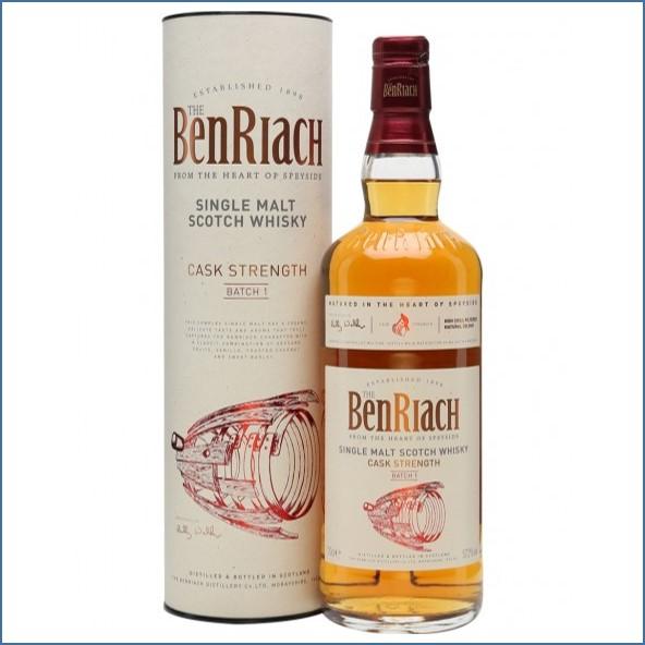 BenRiach Cask Strength - Batch 1 70cl 57.2%