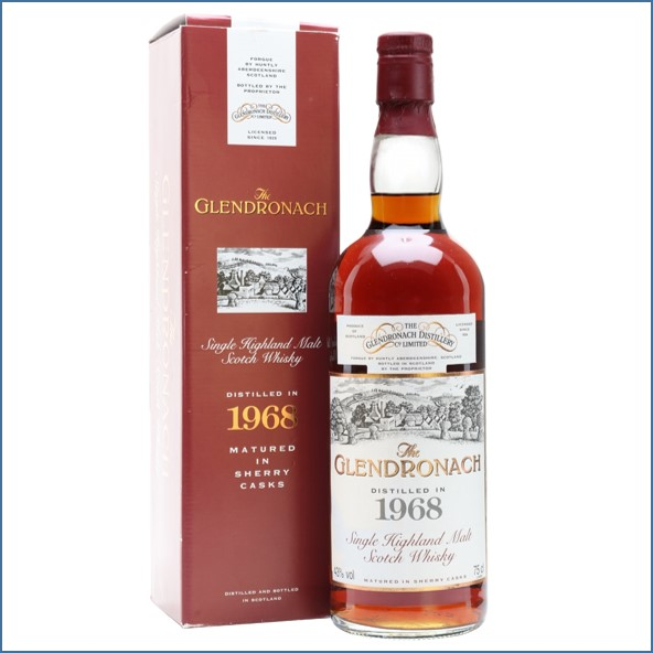 Glendronach 1968 25 Year Old ANA Cask 13 75cl 43%