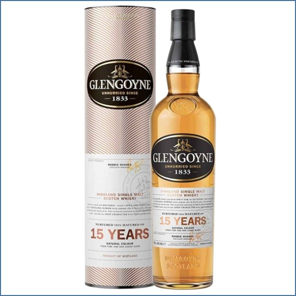 Glengoyne 15 Year Old 70cl 43%