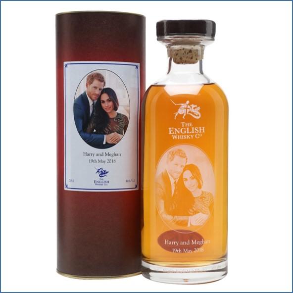 The English Whisky Company Royal Wedding 2018 Harry & Meghan 70cl 46%