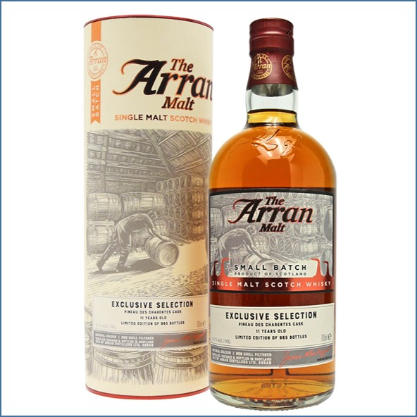 Arran 11 Year Old Small Batch 2008 -2019 Pineau des Charentes Finish 70cl 53.7%