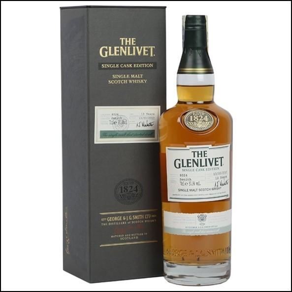 Glenlivet 13 Year Old Zenith Single Cask Edition 70cl 57.9%