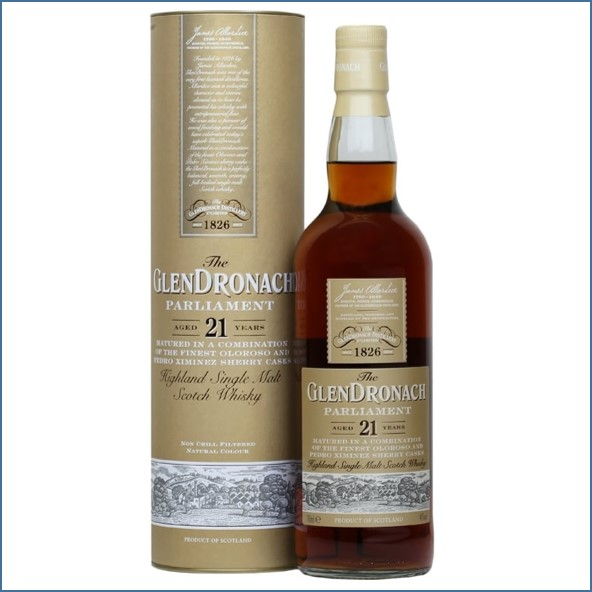 Glendronach 21 Year Old Parliament Sherry Cask 70cl 48%
