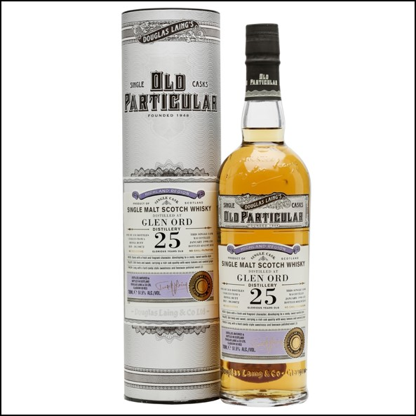 Glen Ord 1990 25 Year Old Old Particular Douglas Laing 70cl 51.5%