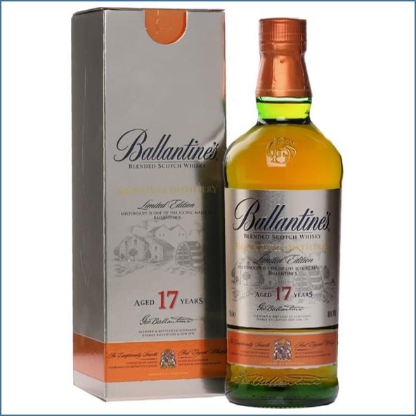 Ballantine's 17 Year Old - Signature Distillery - Miltonduff 70cl 40%
