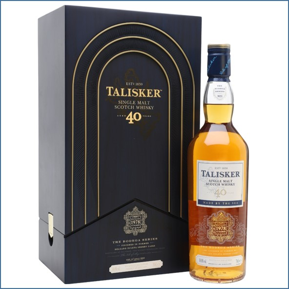Talisker 40 Year Old Bodega Series 1978-2000 70cl 50%
