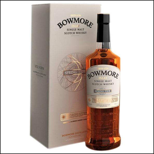 Bowmore Springtide 100cl 54.9% 2012/波摩 Spring Tide 大潮/Bowmore Whisky 波摩威士忌收購價格表/台灣洋酒收購中心