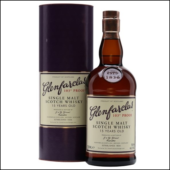 Glenfarclas 15 Year Old 103° Proof TWE Exclusive 70cl 58.6%