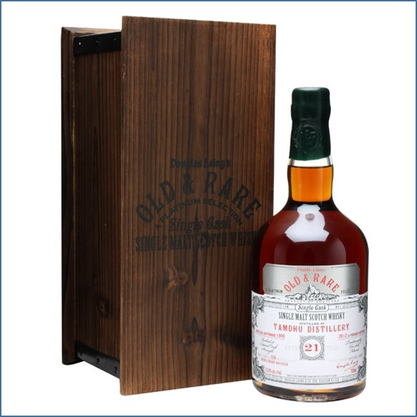 Tamdhu 1990 21 Year Old Sherry Cask Old & Rare Douglas Laing 70cl 53.6%