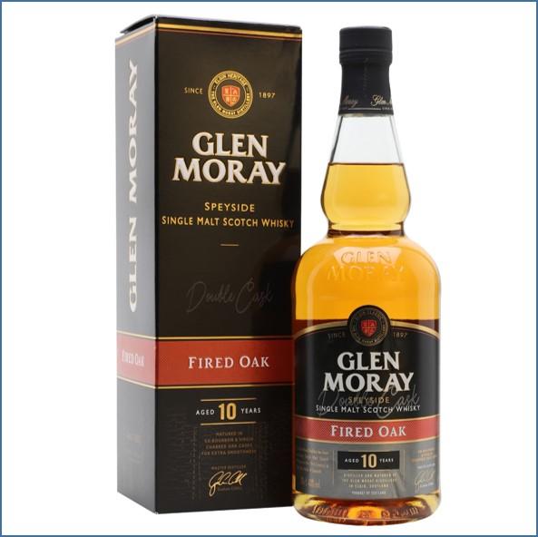 Glen Moray 10 Year Old Fired Oak 70cl 40%
