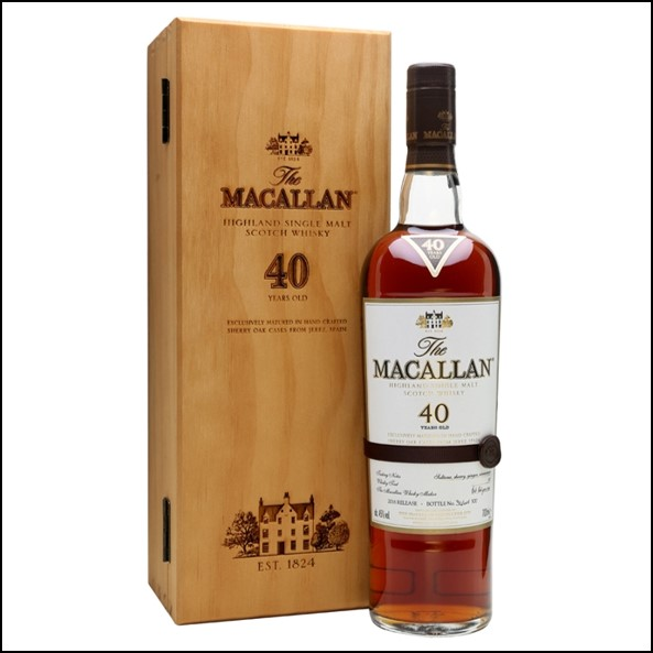 Macallan 40 Year Old 2016