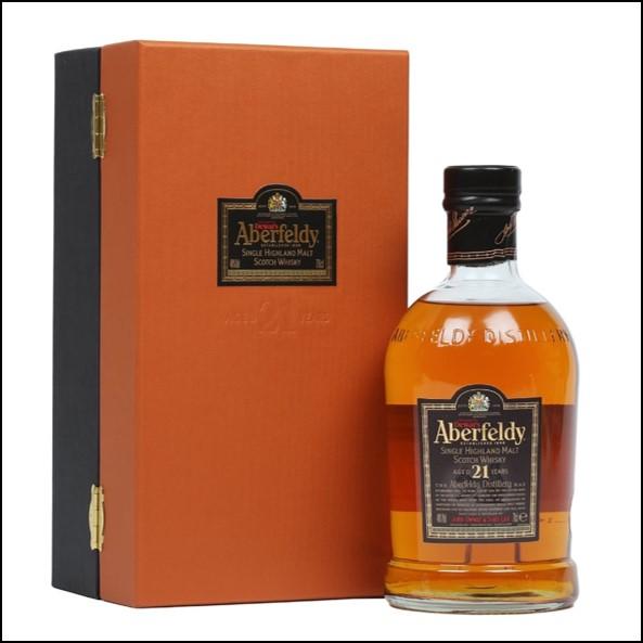 Aberfeldy 21 Year Old Single Malt Scotch Whisky 100cl 40.0% 收購艾伯迪21年
