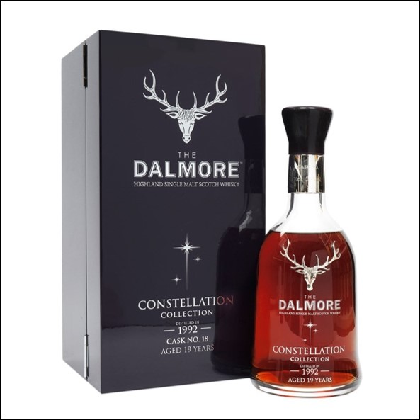 DALMORE CONSTELLATION 1992 19 Year Old Cask 18 70cl 54%  大摩19年威士忌收購 1992