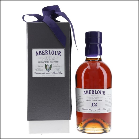 Aberlour 12 Years Old   Sherry Cask Selection 70cl  56.8% 收購亞伯樂 12年 雪莉