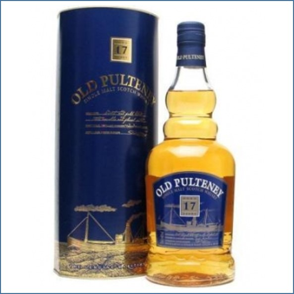 Old Pulteney 17 Year Old  70cl 40%