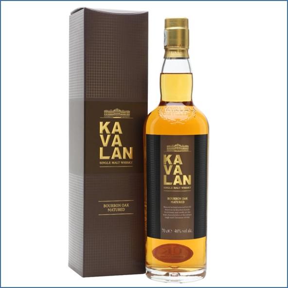 Kavalan Bourbon Oak Taiwanese Single Malt Whisky 70cl 46%