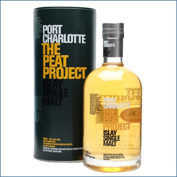 Port Charlotte The Peat Project 2012 70cl 46%