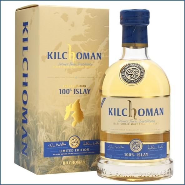 Kilchoman 100% Islay  4th Edition 70cl 50.9%