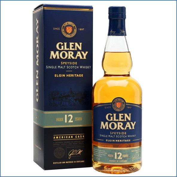 Glen Moray 12 Year Old 70cl 40%