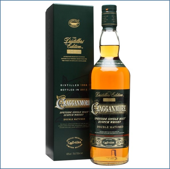 Cragganmore 2012 Distillers Edition 1998 Speyside Single Malt Scotch Whisky 70cl 40%