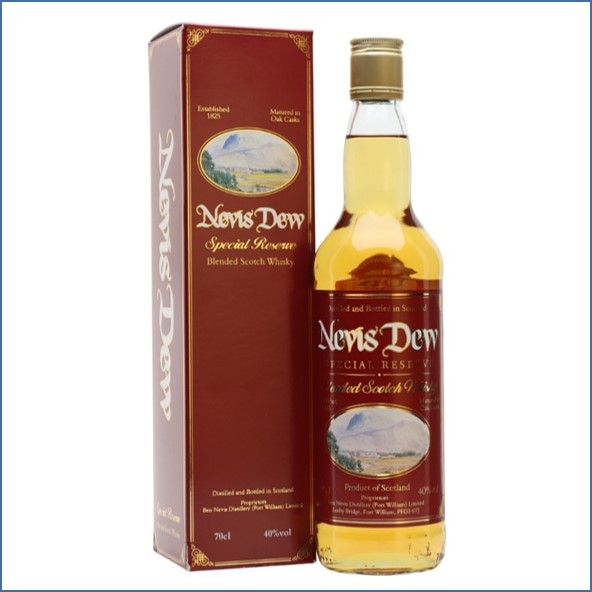 Nevis Dew Special Reserve Blended Scotch Whisky 70cl 40%
