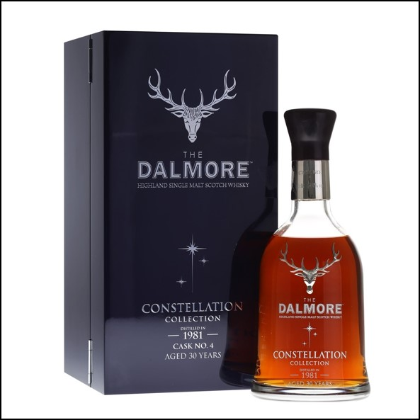 DALMORE CONSTELLATION 1981 30 Year Old Cask 4 70cl 54%  大摩30年威士忌收購 1981