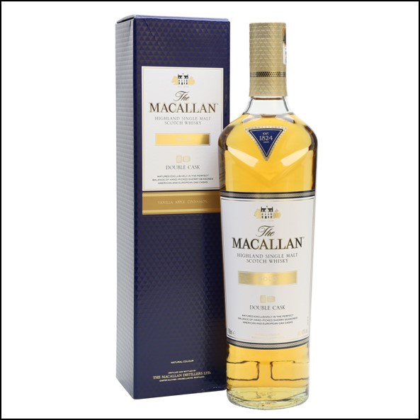 收購麥卡倫雙桶/Macallan Double Cask Gold 70cl 40%