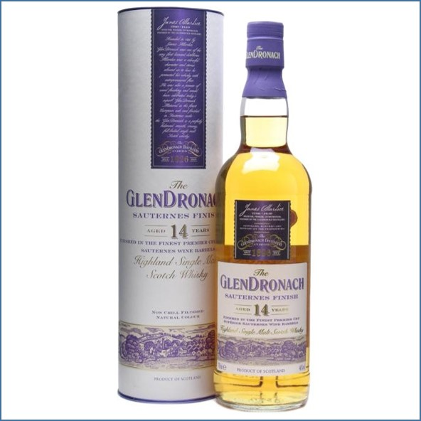 Glendronach 14 Year Old Sauternes Finish 70cl 46%