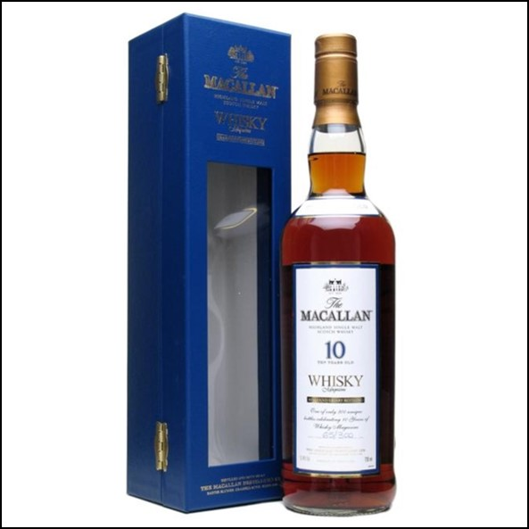 收購麥卡倫10年原酒/ Macallan 10 Year Old Cask Strength  Whisky Live 10th Anniversary 70cl 57.9%