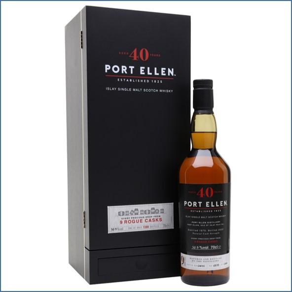 Port Ellen 40 Year Old 1979 9 Rogue Casks Islay Single Malt Scotch Whisky 70cl 50.9%