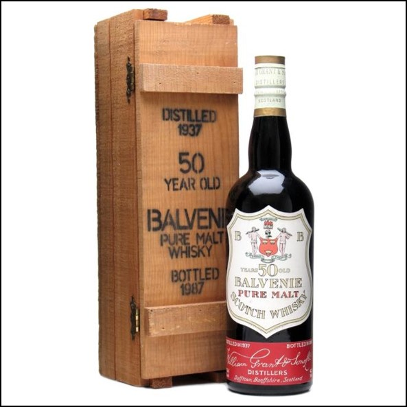 Balvenie  50 year old 1937-1987 75cl 42%
